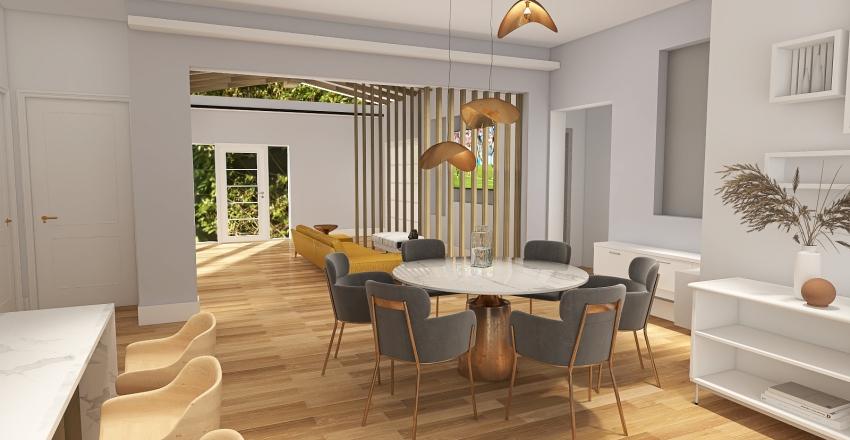 Planta sin añadir terraza Interior Design Render