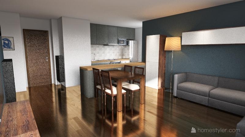 Remont wałbrzyska Interior Design Render