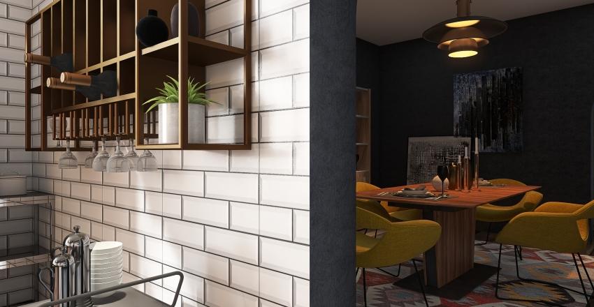 The Chieftain Interior Design Render