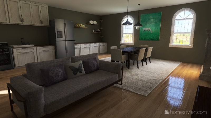 Lovelylittlehouse Interior Design Render