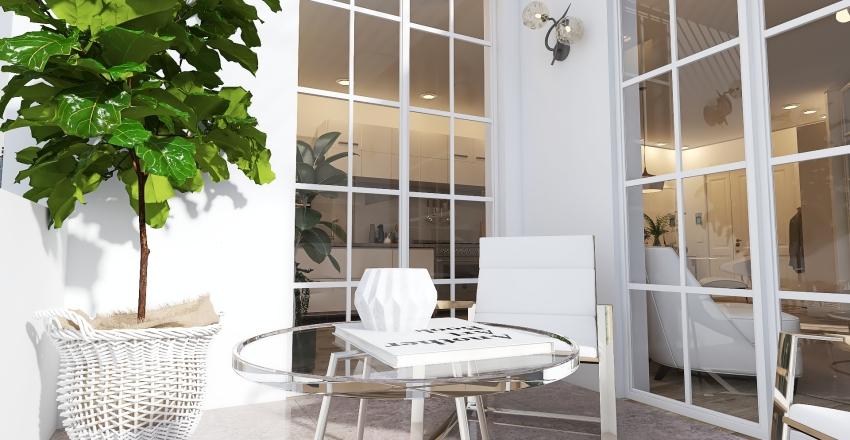 William's Apartment Interior Design Render