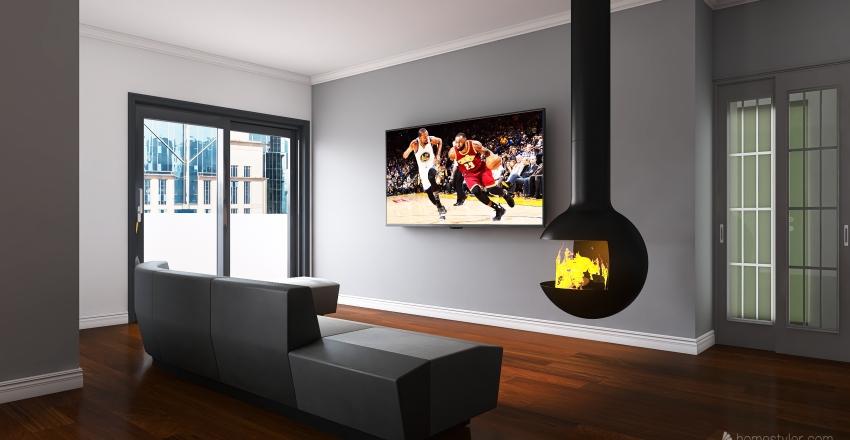 Progetto Per F.F 1.0 Interior Design Render