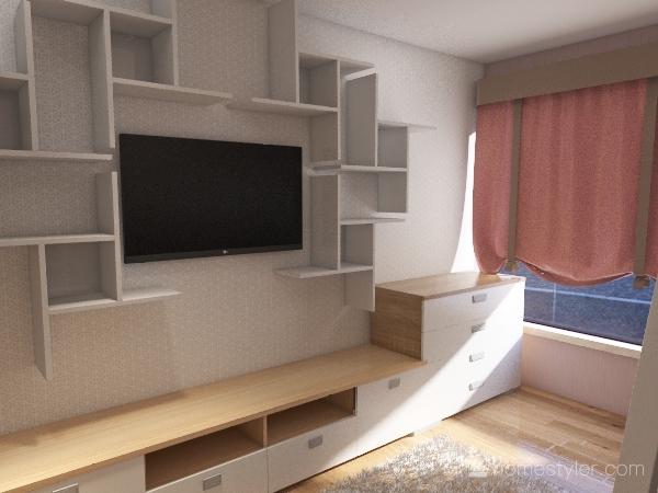 Cuarto Valery Interior Design Render