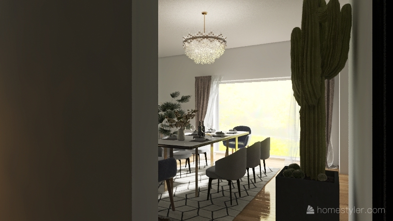 Copy of wymarzony dom 194 m2 Interior Design Render