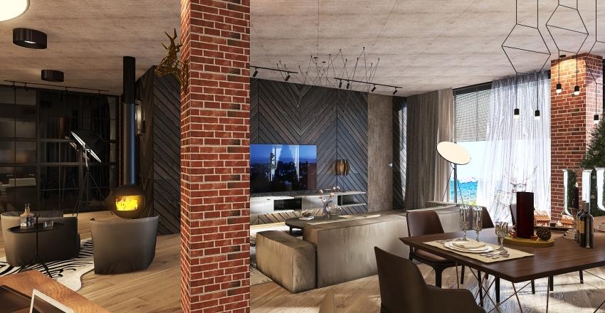 My Loft Interior Design Render