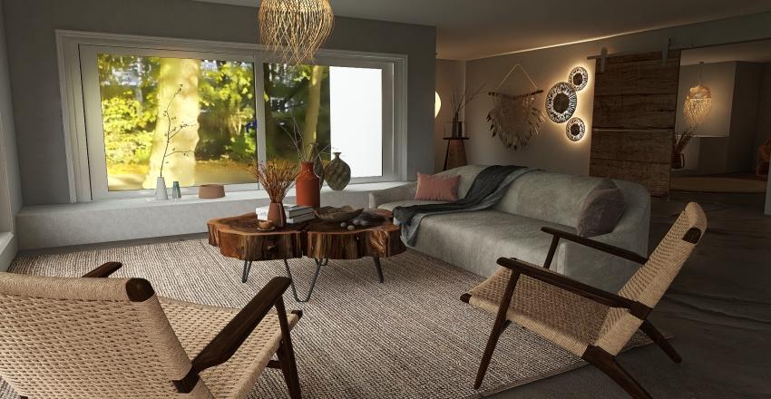 Wabi Sabi Design Interior Design Render