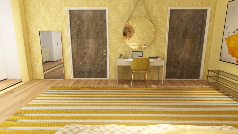 New York Apartment Vibe Interior Design Render