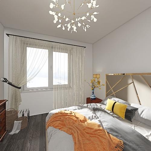Дементьева 20 Interior Design Render