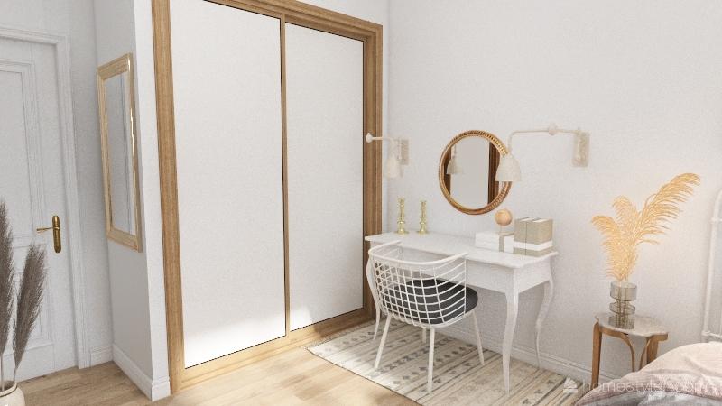 Bedroom Redesign 2 Interior Design Render