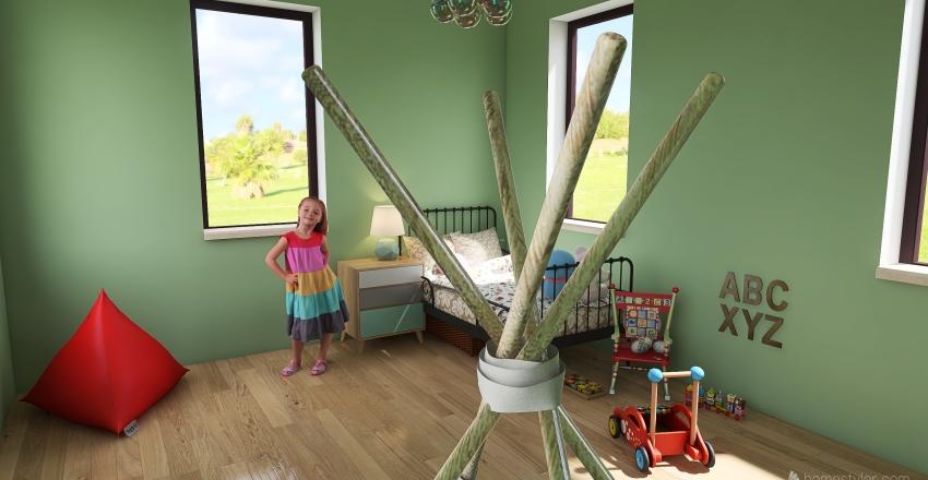 ❤Little girls room❤ Interior Design Render
