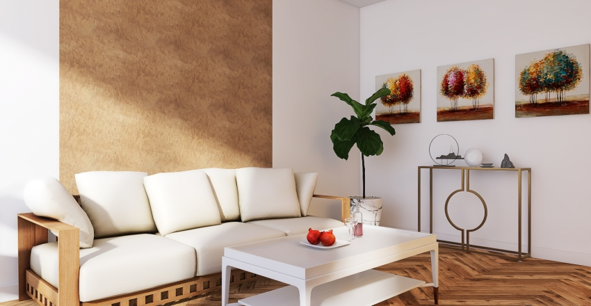 Offieroom Interior Design Render