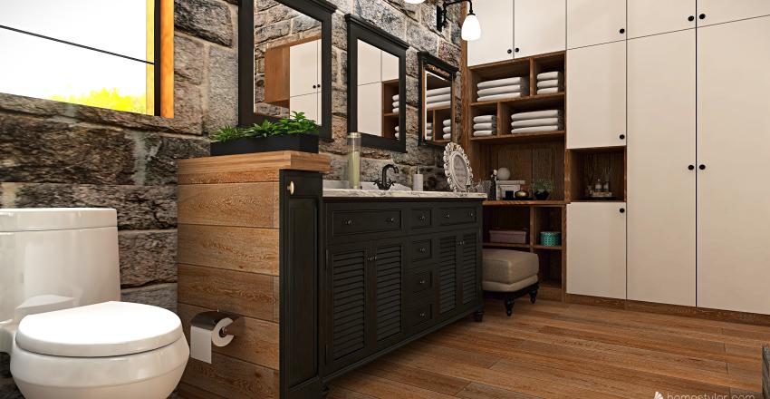 v2_CABIN HOME Interior Design Render