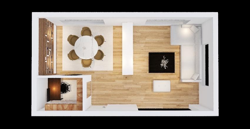 Fedinand Woonkamer 2 Interior Design Render