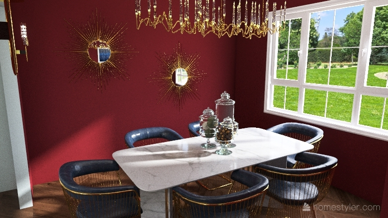 1737 House Interior Design Render