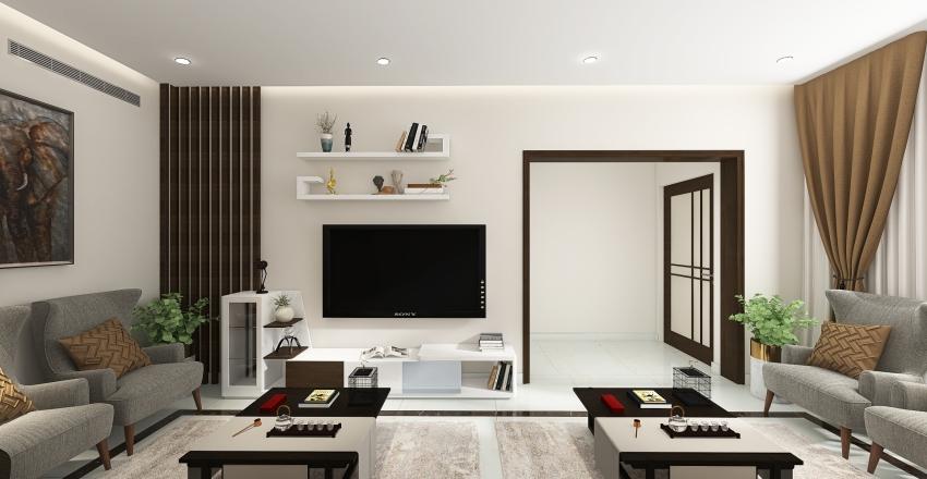 VILLA MR-ADEL-MEN'S MAJLIS-MODIFICATIONS Interior Design Render