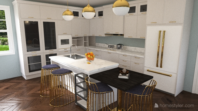 1737 House Interior Design Render