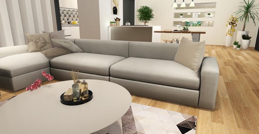 54 floor apartment Interior Design Render