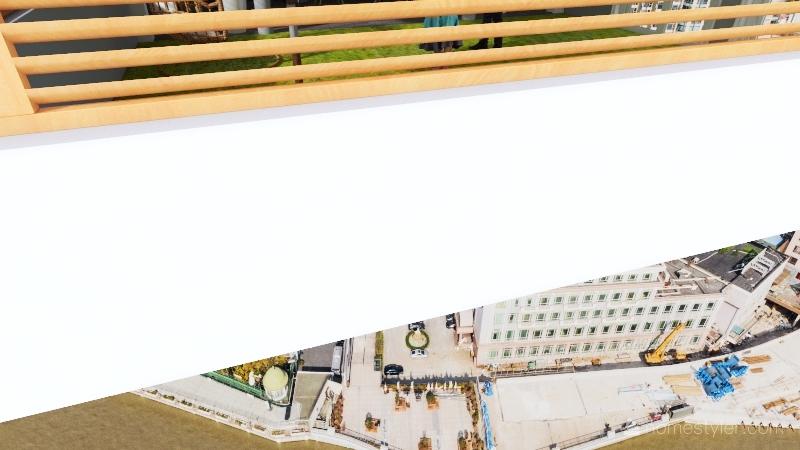 Diseño Backyard Interior Design Render