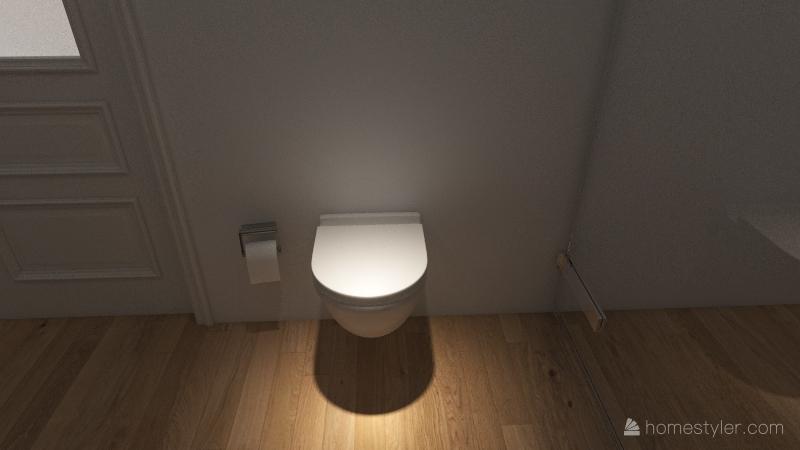 Casa/apartamento amplia Interior Design Render