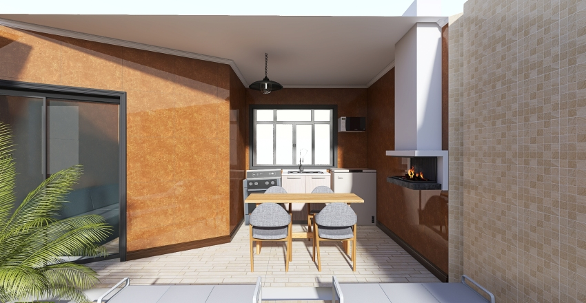 chacara 2... Interior Design Render