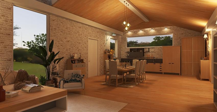 Barn Design Interior Design Render
