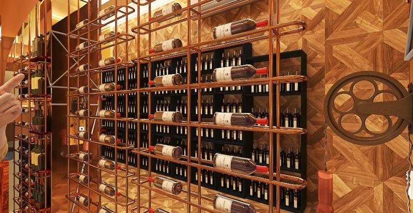 Arabella Wine Bar & Dining restaurant Interior Design Render