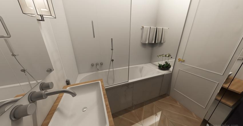 inna łazienka mieszkanie jacka ani Interior Design Render