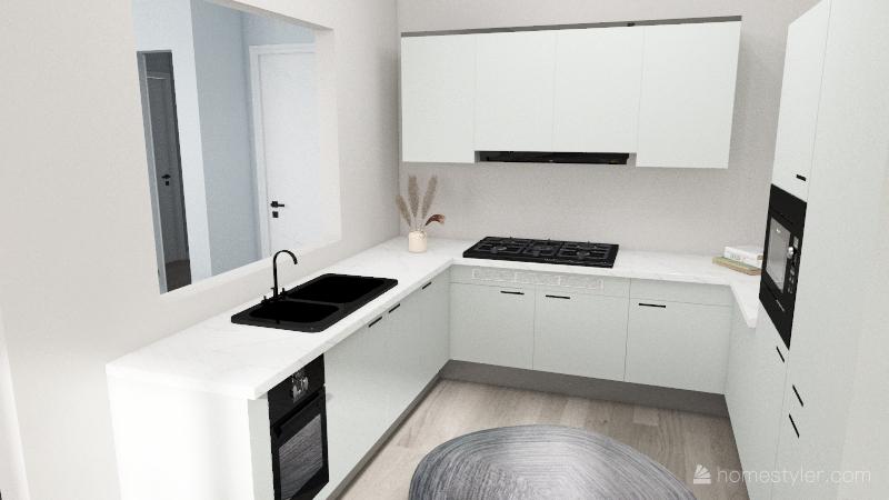 866 Apartment Interior Design Render