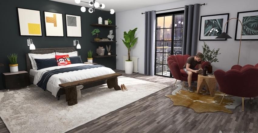 Our bedroom Interior Design Render
