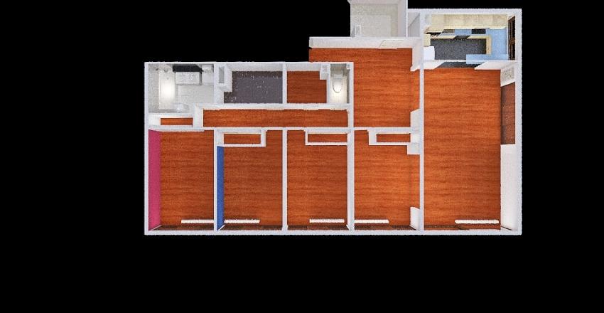 Mermoz A314 existant Interior Design Render