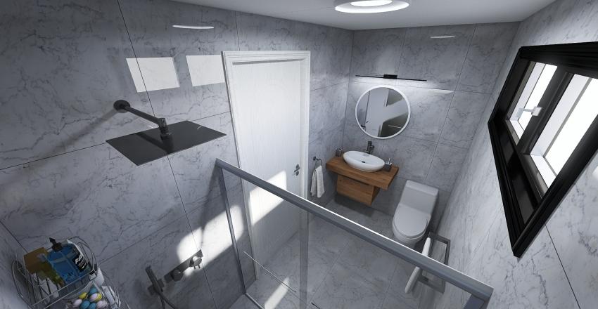 Baño 1-Mariana A. Interior Design Render