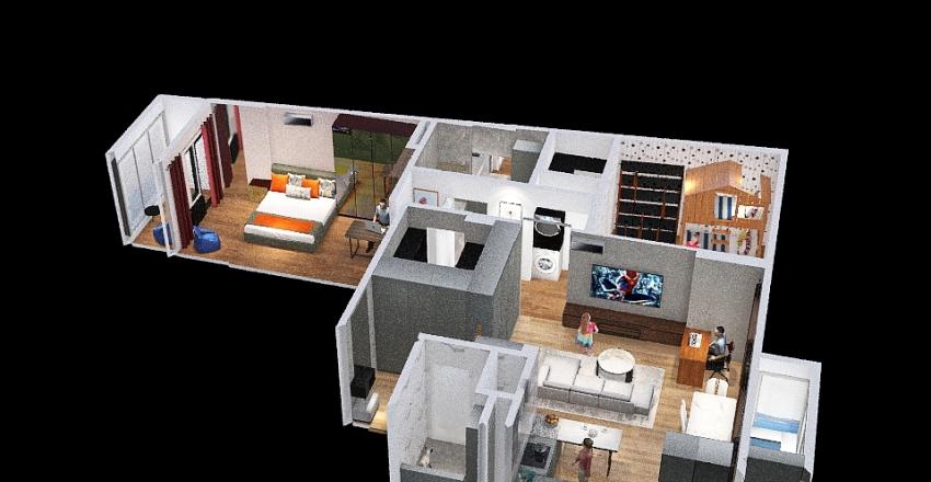 Copy of v2_434r_reconf_v20 Interior Design Render