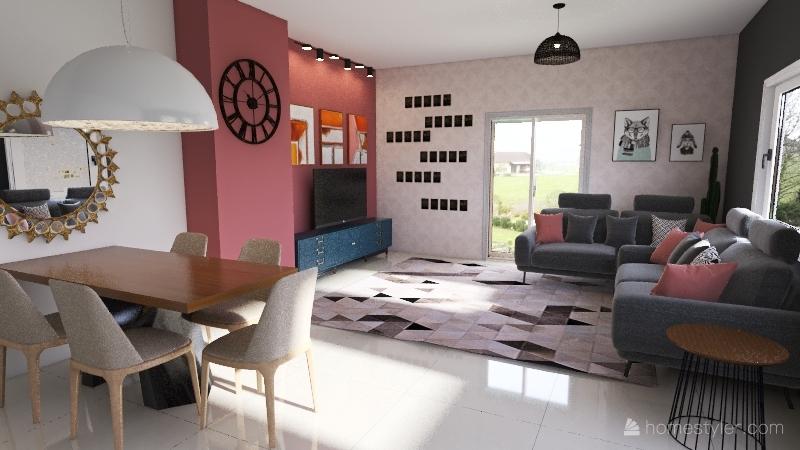 Camylla Interior Design Render