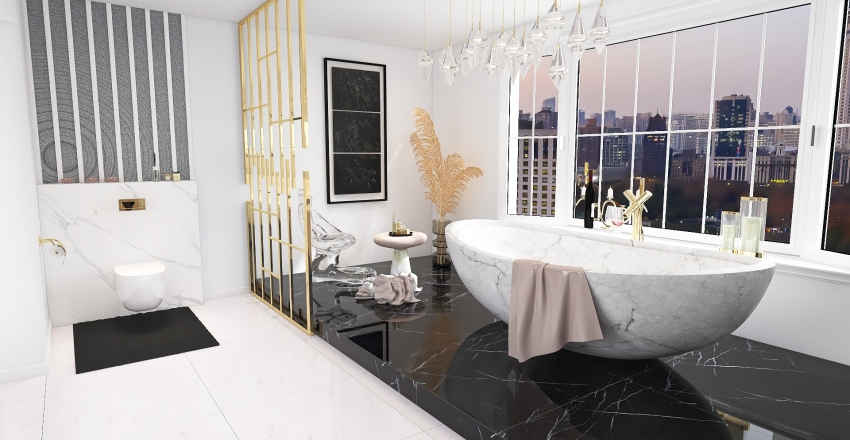 SYPILNIA GLAMOUR Interior Design Render