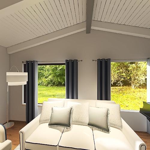 First Floor 8' Walls Interior Design Render