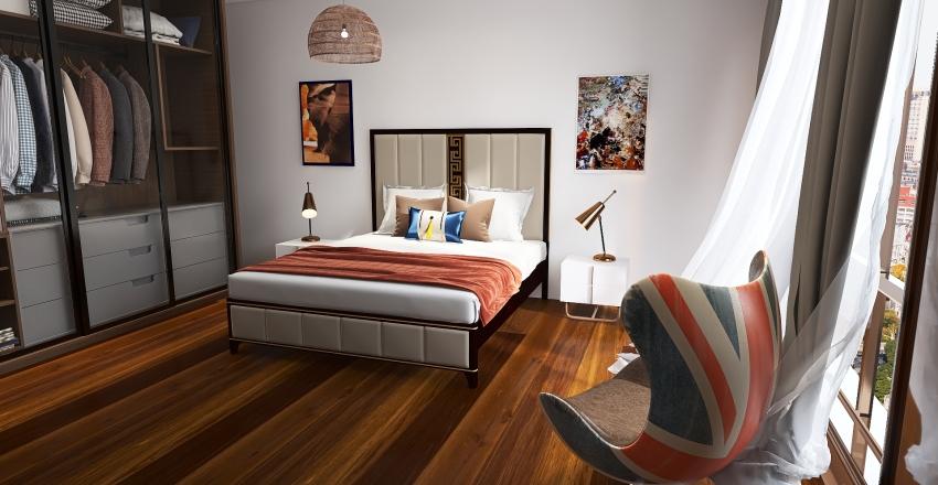 New apartament Interior Design Render
