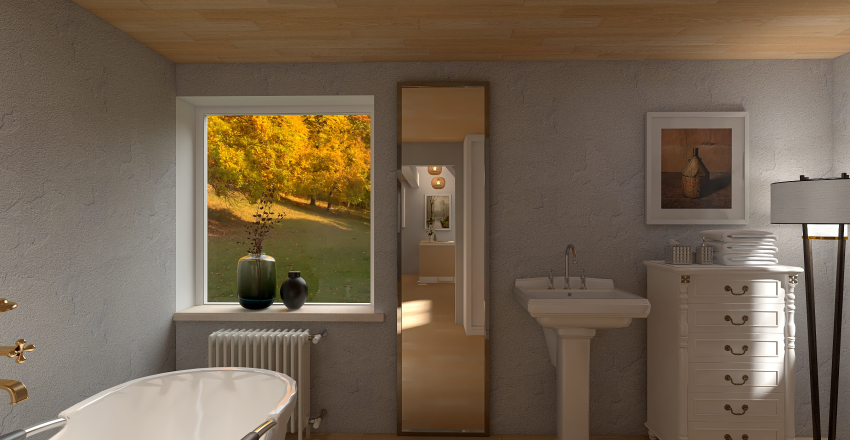 Treasure in the Woods Interior Design Render