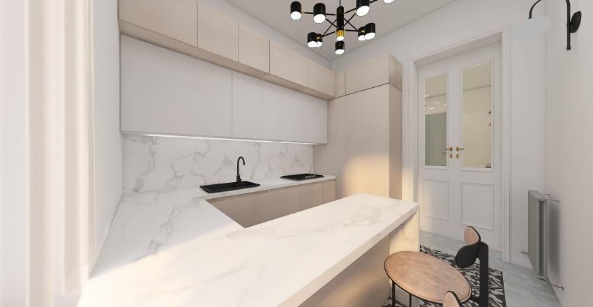 Viale D'Annunzio Interior Design Render