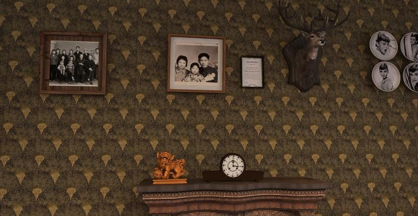 willa gold Interior Design Render
