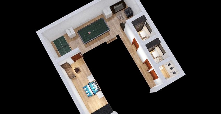 casa2021andar2 Interior Design Render