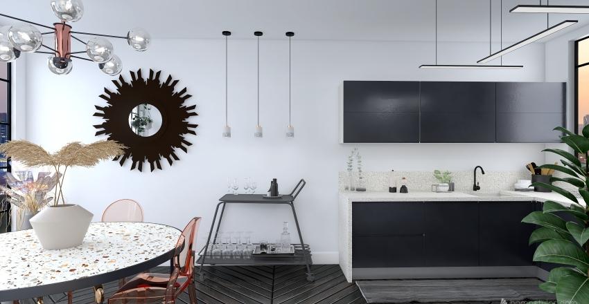 Elegante Interior Design Render
