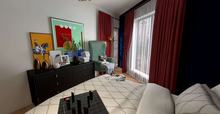 Apartment 17 Interior Design Render