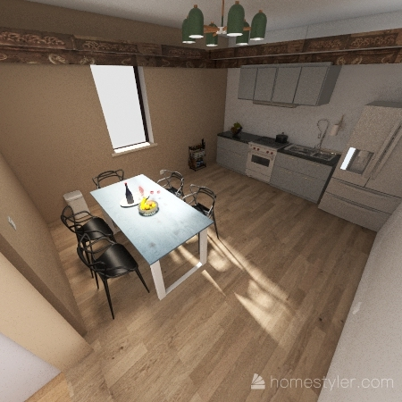 Affordable House Project_copy Interior Design Render