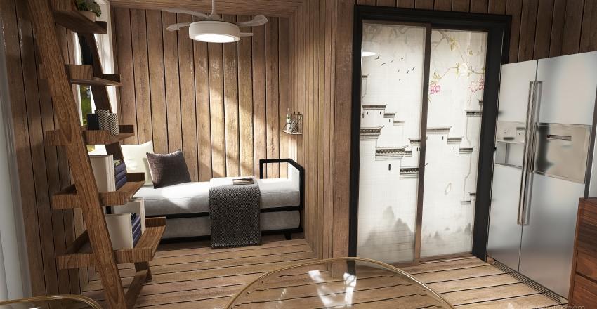 Garden room Interior Design Render