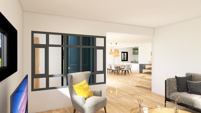 St Germain Interior Design Render