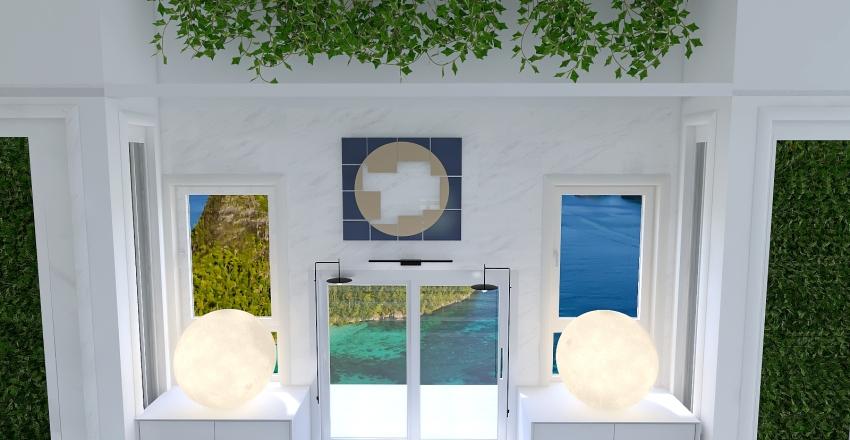 v2_modern sunny house Interior Design Render