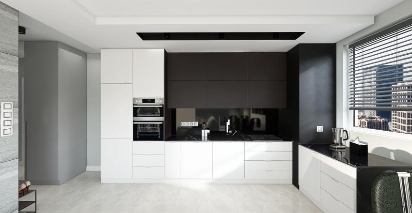 Projekt mieszkania Moniki i Grzegorza Interior Design Render