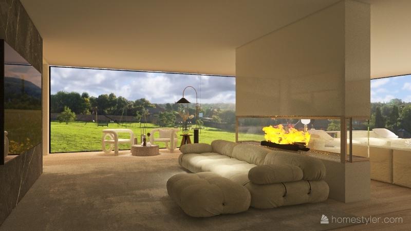 Acrylic Energy  Interior Design Render