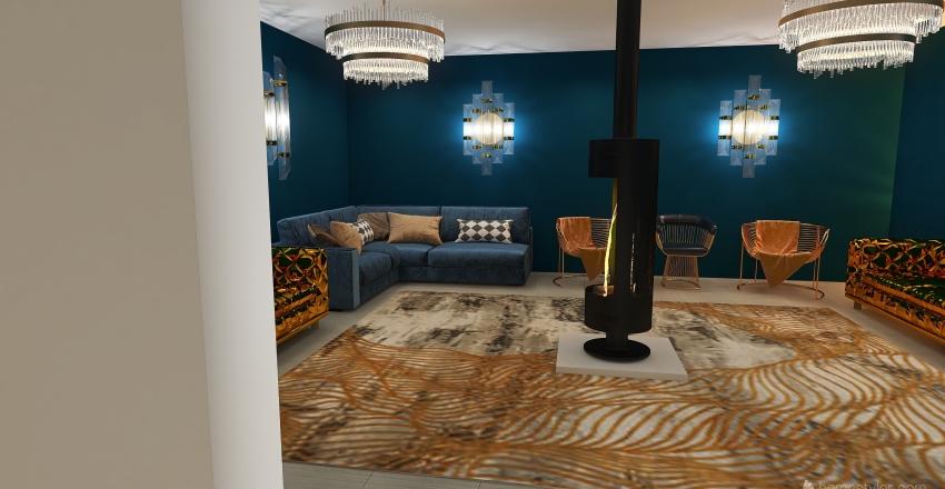 House and a half Interior Design Render