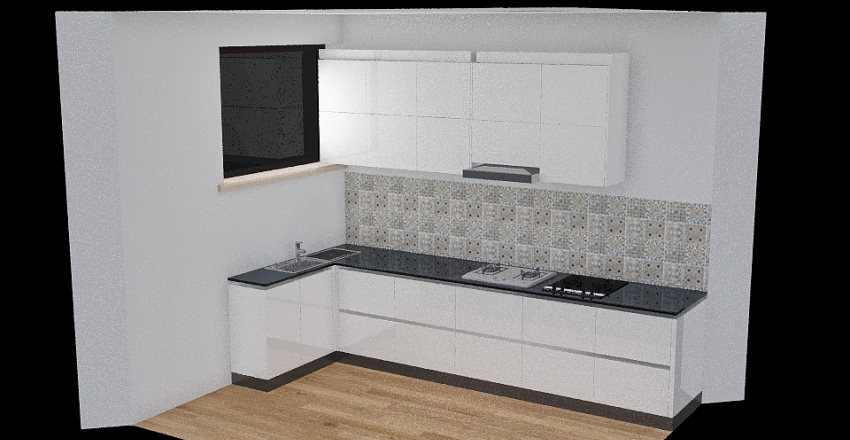 kuchnia jagiellońska Interior Design Render